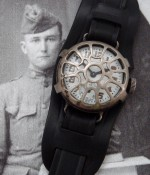 Men's 1916 Waltham Trench Watch w/Shrapnel Guard