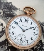 Men's 1920 Hamilton 992 Railroad Pocket Watch