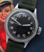 Men's 1950 Elgin A-11 Military Wristwatch