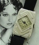 Ladies' 1931 Elgin Arts and Crafts Wristwatch w/Box